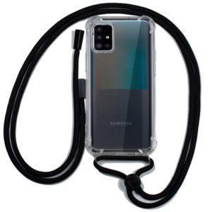 Carcasa Samsung A516 Galaxy A51 5G Cordón Negro