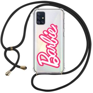 Carcasa Samsung A715 Galaxy A71 Licencia Barbie Cordón