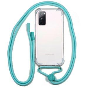 Carcasa Samsung G780 Galaxy S20 FE Cordón Celeste