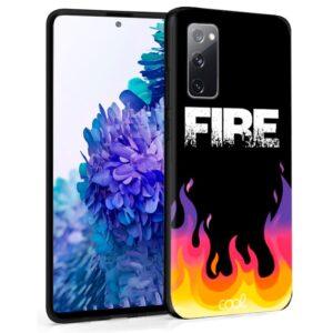 Carcasa Samsung G780 Galaxy S20 FE Dibujos Fire