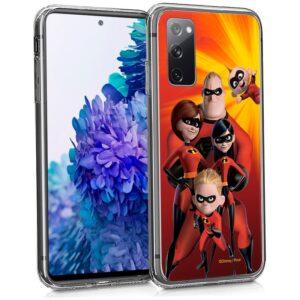 Carcasa Samsung G780 Galaxy S20 FE Licencia Disney Los Increíbles
