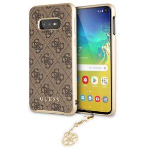 Carcasa Samsung G970 Galaxy S10e Licencia Guess Tela Marrón