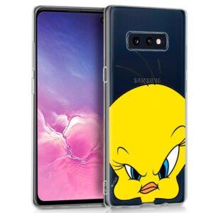 Carcasa Samsung G970 Galaxy S10e Licencia Looney Tunes Piolín