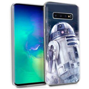 Carcasa Samsung G975 Galaxy S10 Plus Licencia Star Wars R2D2