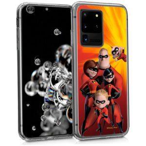 Carcasa Samsung G988 Galaxy S20 Ultra 5G Licencia Disney Los Increíbles