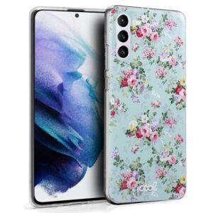 Carcasa Samsung G996 Galaxy S21 Plus Dibujos Flores