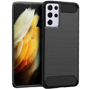 Carcasa Samsung G998 Galaxy S21 Ultra Carbón Negro