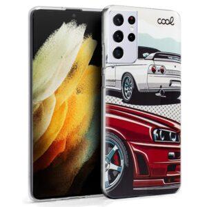 Carcasa Para Samsung G998 Galaxy S21 Ultra Dibujos Cars