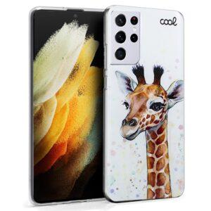 Carcasa Para Samsung G998 Galaxy S21 Ultra Dibujos Jirafa