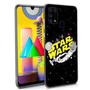 Carcasa Samsung M315 Galaxy M31 Licencia Star Wars
