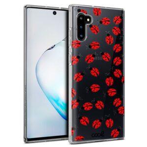 Carcasa Samsung N970 Galaxy Note 10 Clear Mariquitas