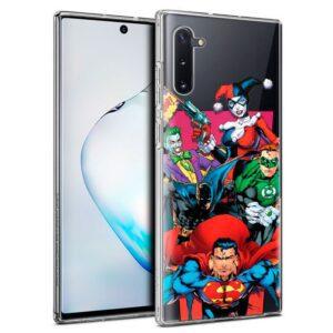 Carcasa Samsung N970 Galaxy Note 10 Licencia DC Liga Justicia