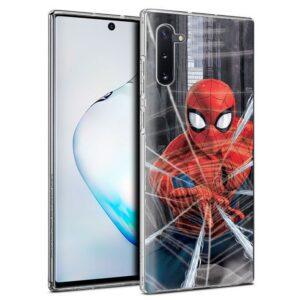 Carcasa Samsung N970 Galaxy Note 10 Licencia Marvel Spider-Man