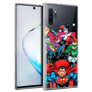 Carcasa Samsung N975 Galaxy Note 10 Plus Licencia DC Liga Justicia