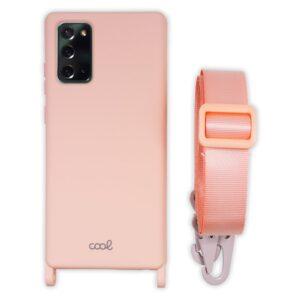 Carcasa Samsung N985 Galaxy Note 20 Ultra Cinta Rosa