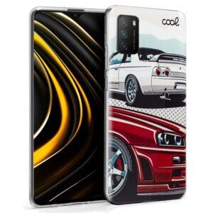 Carcasa Xiaomi Pocophone M3 / Redmi 9T Dibujos Cars