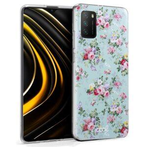 Carcasa Xiaomi Pocophone M3 / Redmi 9T Dibujos Flores