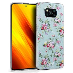 Carcasa Xiaomi Pocophone X3 Dibujos Flores