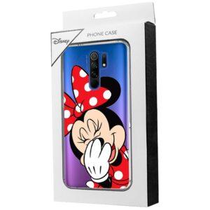 Carcasa Xiaomi Redmi 9 Licencia Disney Minnie