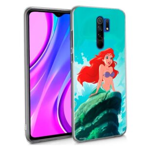 Carcasa Xiaomi Redmi 9 Licencia Disney Sirenita