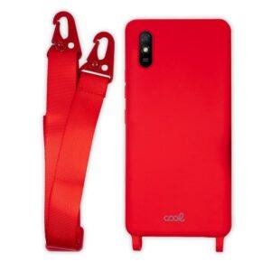 Carcasa Xiaomi Redmi 9A / 9AT Cinta Rojo