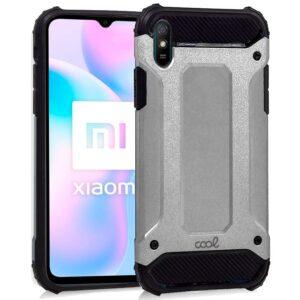 Carcasa Xiaomi Redmi 9A / 9AT Hard Case Plata