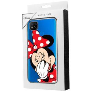 Carcasa Xiaomi Redmi 9C Licencia Disney Minnie