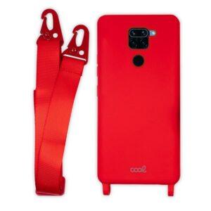 Carcasa Xiaomi Redmi Note 9 Cinta Rojo