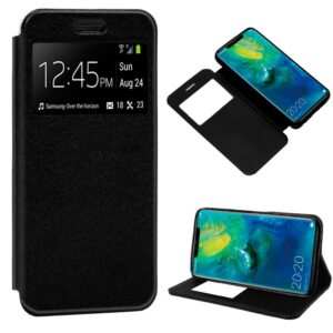Funda Flip Cover Huawei Mate 20 Pro Liso Negro