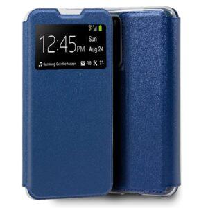 Funda  Flip Cover Para Huawei P40 Liso Azul