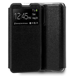 Funda  Flip Cover Para Huawei P40 Liso Negro