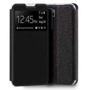 Funda Flip Cover Huawei P40 Lite 5G Liso Negro