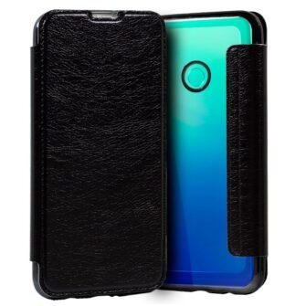 Funda Silicona 3D Huawei P40 Lite E Leather Negro