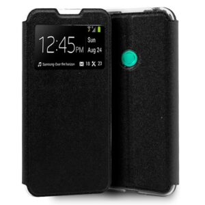 Funda Silicona 3D Huawei P40 Lite E Liso Negro