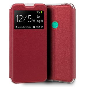 Funda Silicona 3D Huawei P40 Lite E Liso Rojo