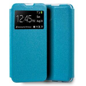 Carcasa Para Huawei P40 Lite Liso Celeste