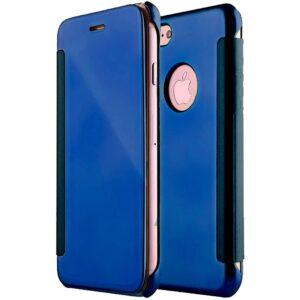 Funda Flip Cover para iPhone 7 / 8 / SE (2020) Clear View Azul