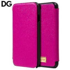 Funda Flip Cover para iPhone 7 / 8 / SE (2020) Licencia Dolce Gabbana Rosa