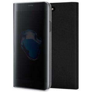 Funda Flip Cover Para IPhone 7 Plus / IPhone 8 Plus Clear View Negro