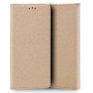 Funda Flip Cover Para IPhone X / IPhone XS Liso Beige