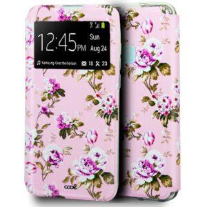 Funda Flip Cover Para Samsung Galaxy A21s Dibujos Flores