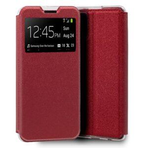 Funda Flip Cover Samsung A515 Galaxy A51 Liso Rojo
