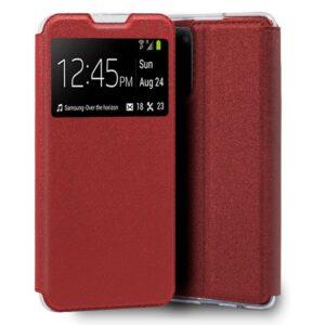 Funda Flip Cover Samsung G780 Galaxy S20 FE Liso Rojo