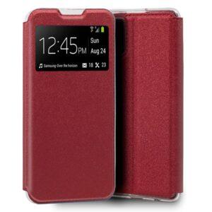 Funda Flip Cover para Samsung G985 Galaxy S20 Plus Liso Rojo