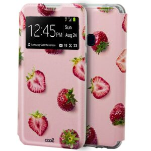 Carcasa Samsung M315 Galaxy M31 Dibujos Fresas