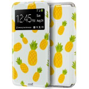 Funda Flip Cover Para Samsung N770 Galaxy Note 10 Lite Dibujos Piñas