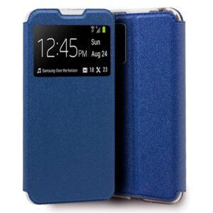 Funda Flip Cover Xiaomi Pocophone M3 / Xiaomi Redmi 9T Liso Azul