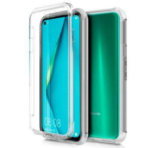 Funda Silicona 3D Para Huawei P40 Lite (Transparente Frontal + Trasera)