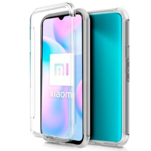 Carcasa Xiaomi Redmi 9A / 9AT  (Transparente Frontal + Trasera)