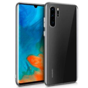 Funda Flip Cover Huawei P30 Pro (Transparente)
